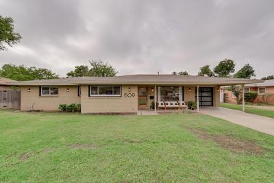 Midland Single Family Home For Sale: 1509 Community Lane
