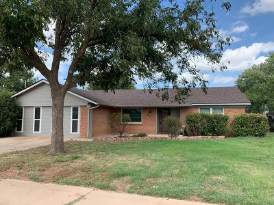 Midland Single Family Home For Sale: 3704 Gulf Ave