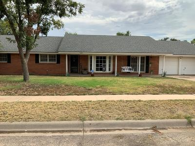 Midland Single Family Home For Sale: 1605 W Dengar Ave