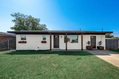 Midland Single Family Home For Sale: 4623 Wilshire Dr