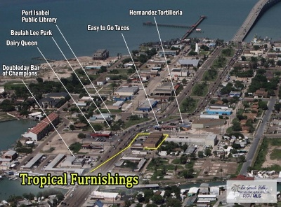 Port Isabel, Laguna Heights Commercial For Sale: 301 Hwy 100