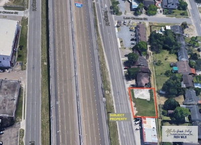 Brownsville Commercial Lots & Land For Sale: 227 S Expressway 77/83