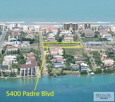 South Padre Island Commercial For Sale: 5400 Padre Blvd.