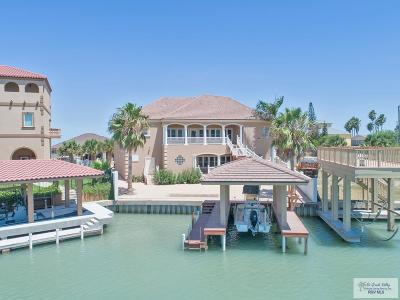 Port Isabel Single Family Home For Sale: 1212 North Shore Dr
