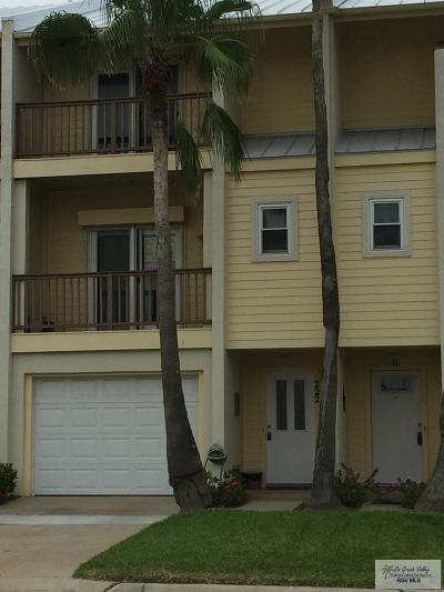 Port Isabel Condo/Townhouse For Sale: 226 Houston St #222-A