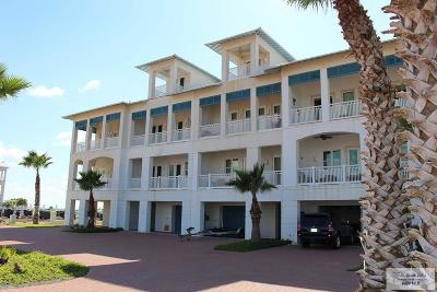 South Padre Island Condo/Townhouse For Sale: 8415 Water St. #C