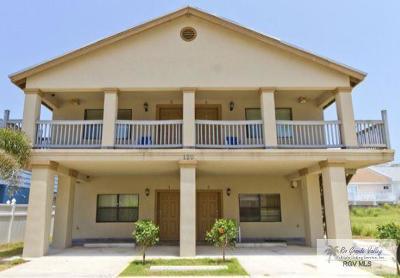South Padre Island Condo/Townhouse For Sale: 120 E Lantana St.