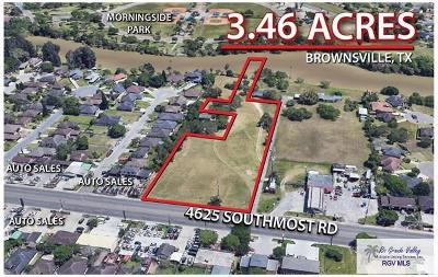 Brownsville Commercial Lots & Land For Sale: Southmost Rd.
