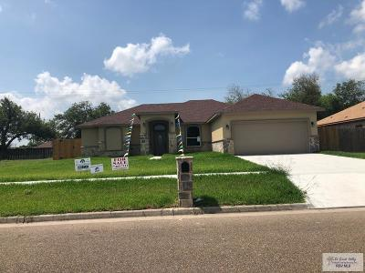 Bayview, Los Fresnos Single Family Home For Sale: 207 White Oak Dr.
