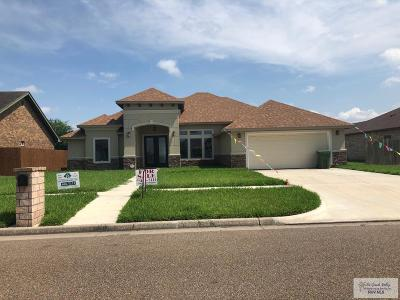 Bayview, Los Fresnos Single Family Home For Sale: 212 White Oak Dr.