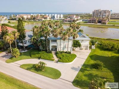 South Padre Island TX Single Family Home For Sale: $1,185,000