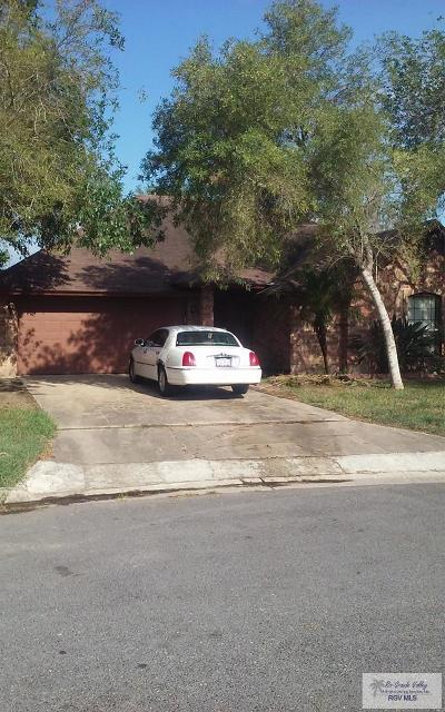 Brownsville Single Family Home For Sale: 2024 Toluca Dr.