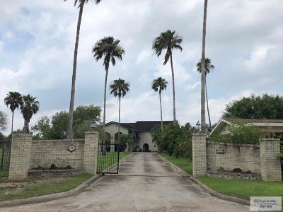 Bayview, Los Fresnos Single Family Home For Sale: 100 E Resaca Dr.
