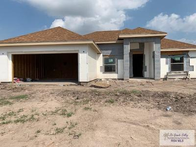 Brownsville Single Family Home For Sale: 3100 Basque Dr. #NEW BUIL