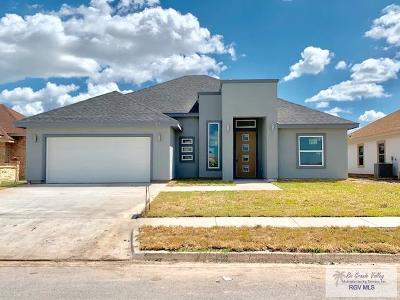 Brownsville Single Family Home For Sale: 3104 Basque Dr.