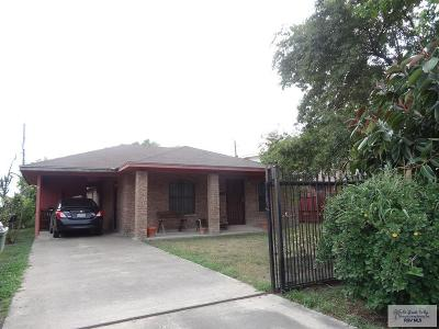 Brownsville Single Family Home For Sale: 1225 W St Francis St.