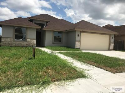 Brownsville Single Family Home For Sale: 7513 Florida Pine St.