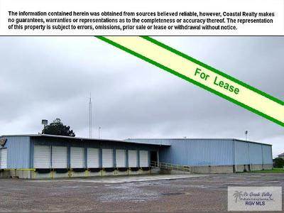 Brownsville Commercial Lease For Lease: 1605 Military Hwy.