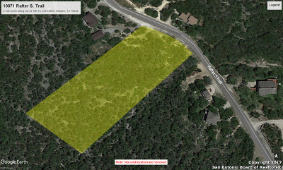Helotes Residential Lots & Land For Sale: 10071 Rafter S Trail