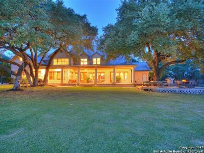 Comal County Farm & Ranch For Sale: 814 Hueco Springs Loop Rd