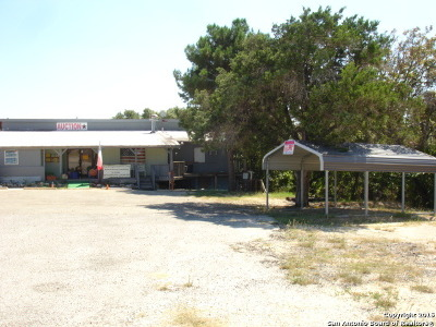 Bandera County Commercial For Sale: 9084 Fm 1283