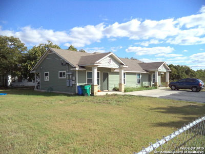 Guadalupe County Multi Family Home For Sale: 1227-1237 W Jefferson Ave