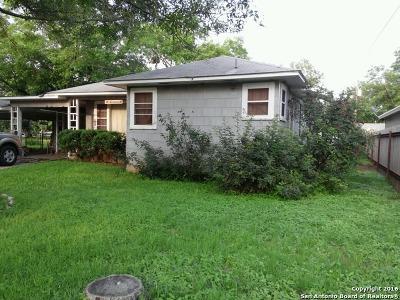 Hondo Single Family Home For Sale: 2705 Avenue I