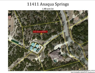 Boerne Residential Lots & Land For Sale: 11411 Anaqua Springs