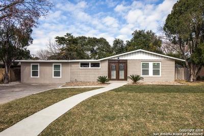 San Antonio Single Family Home For Sale: 75 Camellia Way