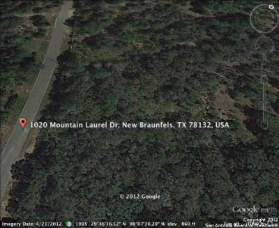 Comal County Residential Lots & Land For Sale: 1020 Mountain Laurel Dr