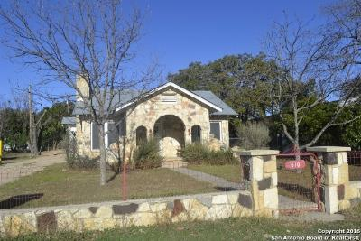 Bandera Single Family Home For Sale: 610 Main St