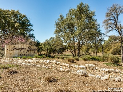 Boerne Residential Lots & Land For Sale: 11211 Caliza Bluff
