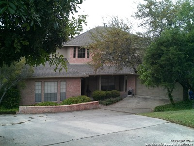 San Antonio Single Family Home For Sale: 19750 Wittenburg