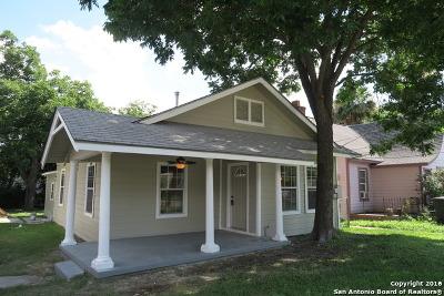 San Antonio Single Family Home Back on Market: 516 W Ridgewood Ct