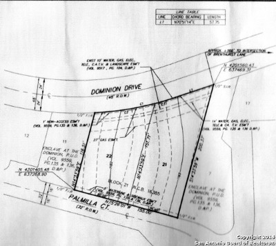 The Dominion Residential Lots & Land For Sale: 131 Palmilla Ct