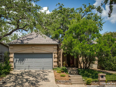 San Antonio TX Single Family Home Sold: $225,000