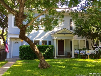 Alamo Heights Single Family Home For Sale: 131 Harrison Ave