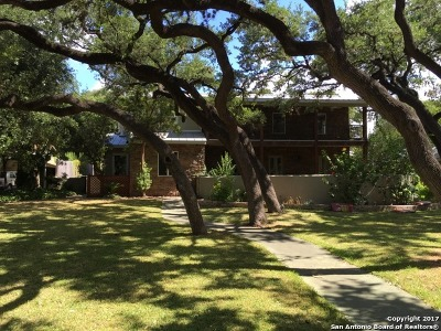 Alamo Heights Single Family Home For Sale: 225 Tuxedo Ave