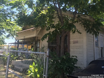 San Antonio Single Family Home For Sale: 1708 Guadalupe St