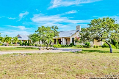 Kerrville Single Family Home For Sale: 1392 Whiskey Canyon Ranch Rd N
