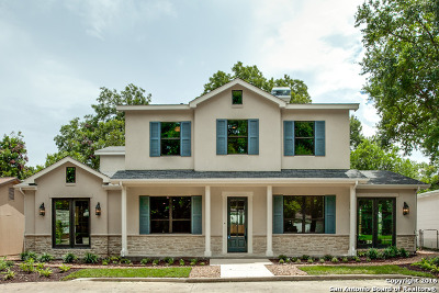 Alamo Heights Single Family Home For Sale: 270 E Elmview Pl