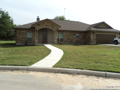 Pleasanton Single Family Home For Sale: 1610 Pecan Circle