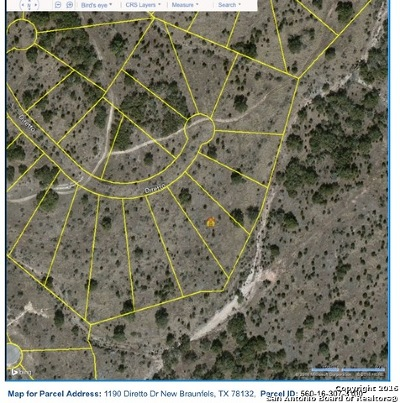 New Braunfels Residential Lots & Land For Sale: 1190 Diretto Dr