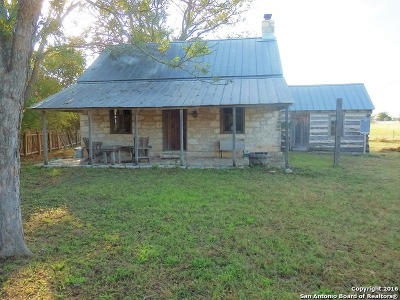 Fredericksburg Single Family Home For Sale: 7162 S State Highway 16