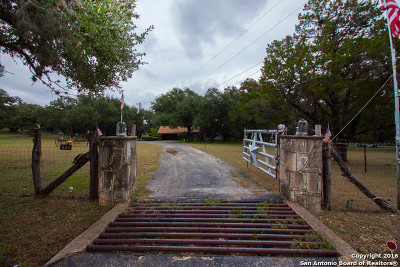 Boerne Single Family Home Back on Market: 111 Scenic Loop Rd