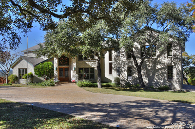 Boerne Single Family Home For Sale: 26726 Turkey Run Dr