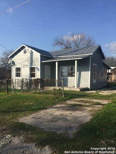 San Antonio Single Family Home For Sale: 203 Coleman St