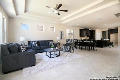 San Antonio Single Family Home Price Change: 23027 Woodlawn Rdg