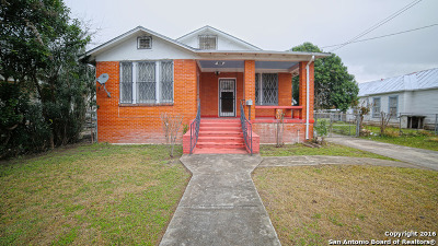 San Antonio Single Family Home Back on Market: 1411 Monterey St