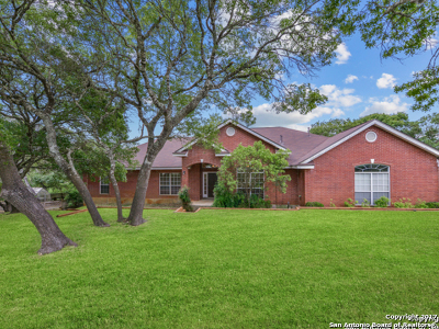 Boerne Single Family Home Active RFR: 111 Roundup Dr